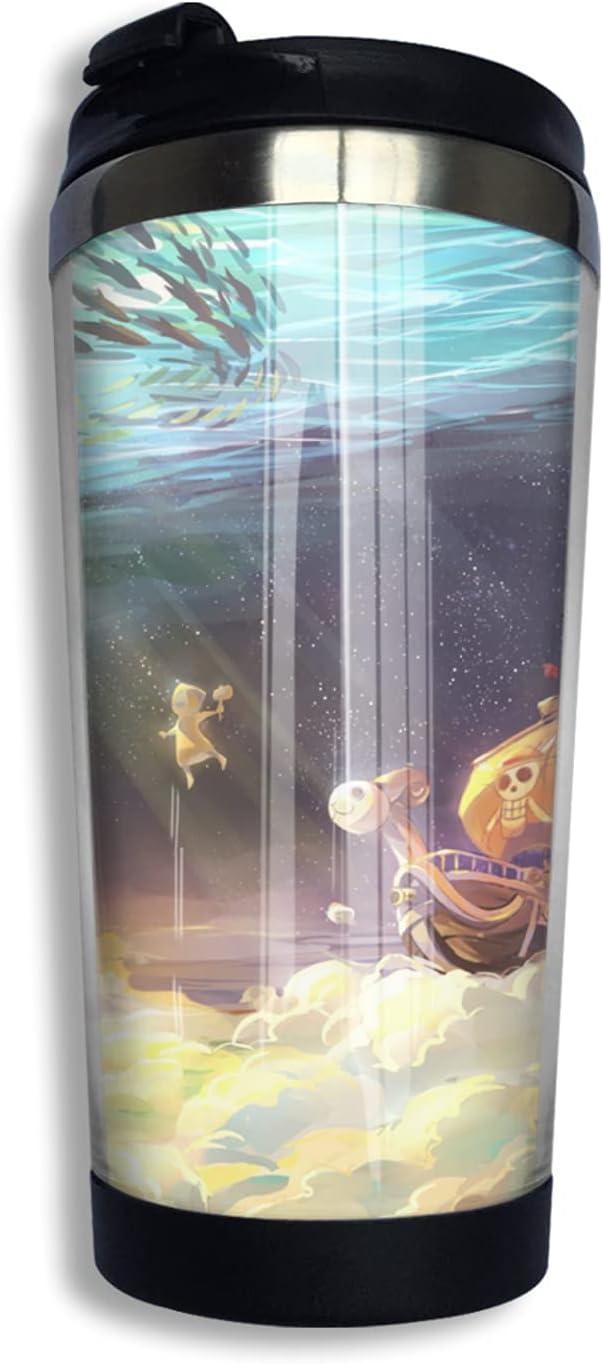 One Piece Anime Coffee Cup Max 65% OFF 3d Thermos M Mug Fashion Print Max 78% OFF