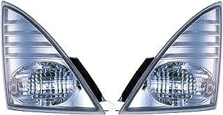 ジェットイノウエ(JET INOUE) フロントウィンカーランプ 日野4t レンジャープロ 大型NEWプロフィア用 トラックウィンカー クリアー 526533