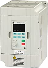 LAPOND SVD-ES Series Single Phase VFD Drive VFD Inverter Professional Variable Frequency Drive 1.5KW 2HP 220V 7A for Spind...