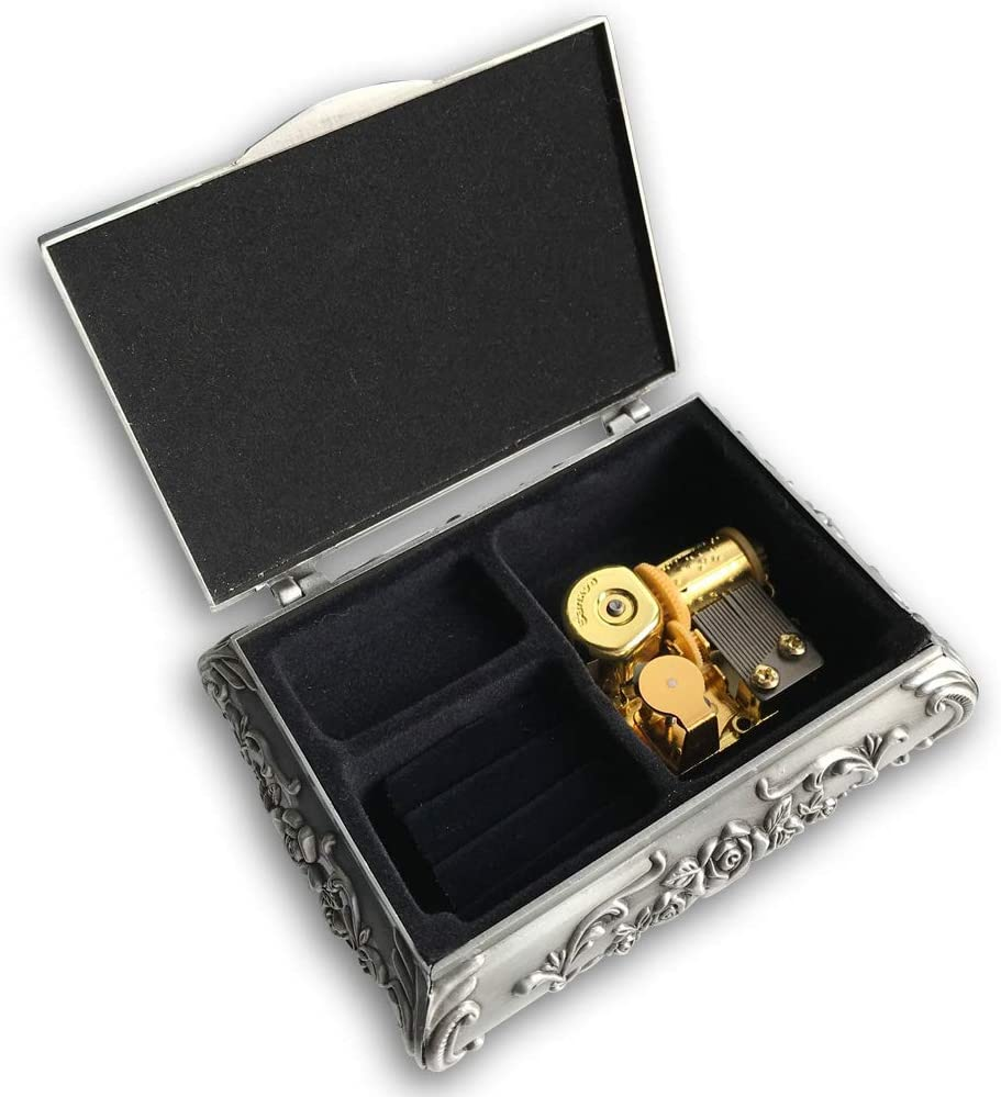 Play Rock a Selling Bye Baby Alloy Wind w Fashionable up Music and Jewelry Box