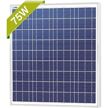 Amazon Com Siemens Sp75 75w Watt Solar Panel Seimens 75 Garden Outdoor