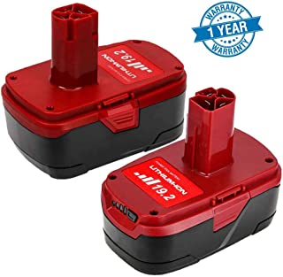Replace for Craftsman 19.2 Volt Battery Lithium Ion 5.0Ah C3 for Craftsman XCP 1323903 130279005 130211004 11375 11045 315.115410 315.11485 315.113753-2 Packs