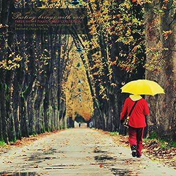 이별은 비와 함께 찾아온다
