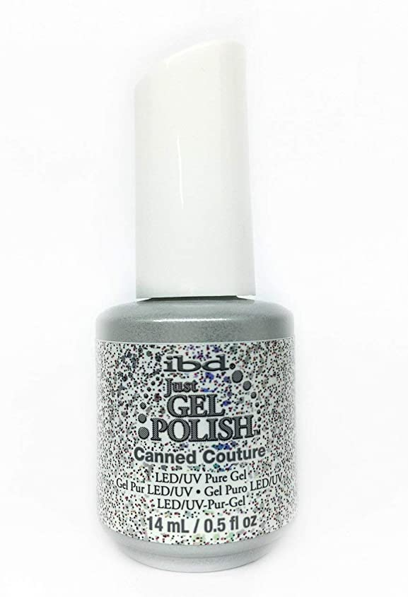 お願いします神秘的な一人でibd Just Gel Nail Polish - Canned Couture - 14ml / 0.5oz