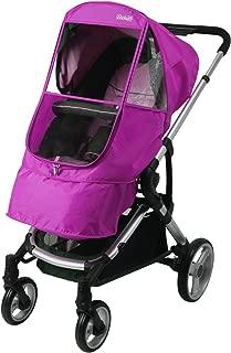 Manito Elegance Beta Stroller Weather Shield / Rain Cover - Purple