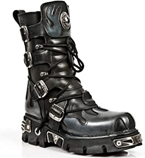 New Rock Boots Unisex Style 591 S2 Silver