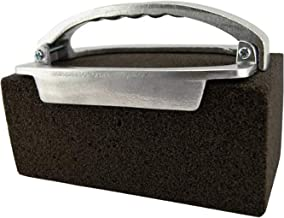 Tiger Chef Griddle Brick Holder and Grill Brick Cleaner, 2-Piece Set - for Cleaning Blackstone Griddle and Grills