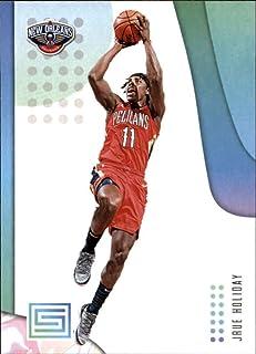 2018-19 Panini Status #63 Jrue Holiday New Orleans Pelicans NBA Basketball Trading Card