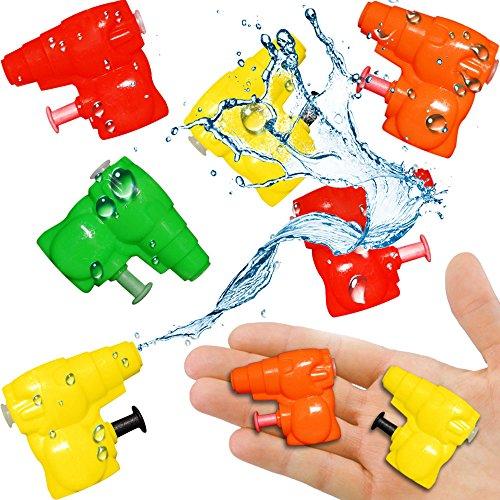 German Trendseller 12 x Super - Kleine Wasserpistolen - Mix ┃ NEU ┃ Mitgebsel ┃ Kindergeburtstag ┃ Kinder Pool Party ┃ 12 Stück