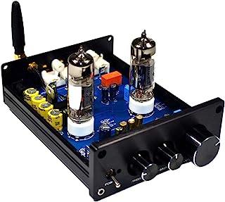Gazechimp Audio HiFi 6J5 Tube Preamp Bluetooth 4.2 DC12V Vacuum Preamp with Treble & Bass Adjust for Home Stereo Amplifier...