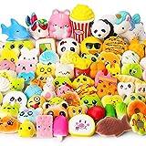 Juguetes Squishy de Hinchado Lento Paquete Surtido de 15 Squishies: Kawaii de Comida Gigante Bollo Pan Donuts Panda...