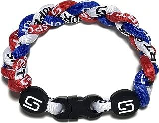 Sport Ropes 3 Rope Titanium Bracelet - Choose from Multiple Colors