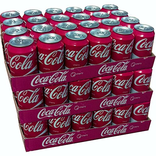 Original Coca Cola Cherry 72 Dosen x 330 ml. Megapack- immer werksfrische Ware.
