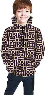 Dog Head Shiba Inu Kids/Teen Boys Girls Hoodie,3D Print Pullover Sweatshirts