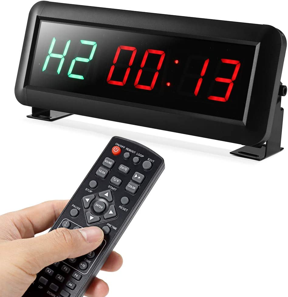 PELLOR Fitness Brand Cheap Sale Venue Training Gym Timer Rem Interval with Max 65% OFF Clock