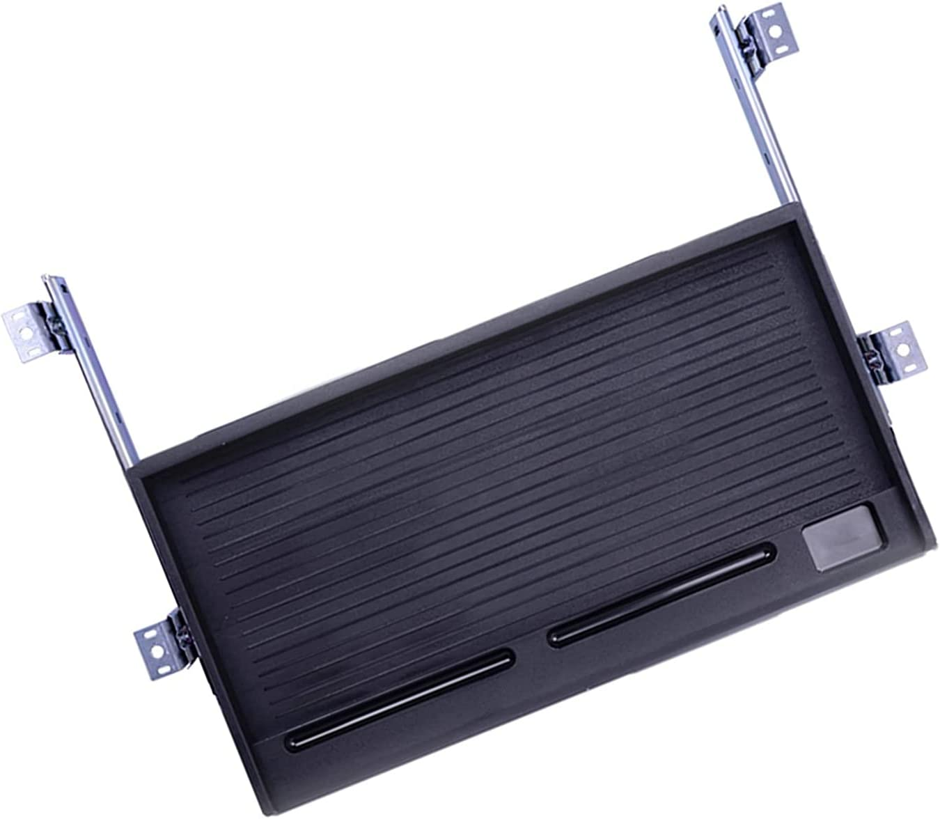JTGPFC Standard Under store Many popular brands Desk Tray Black for White Keyboar Allows