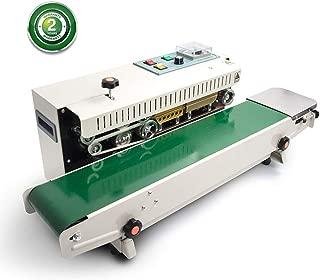 Automatic Continuous Sealing Machine Food Sealer Horizontal Auto Impulse Sealer Machine Plastic Sealer