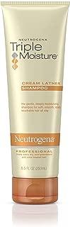 Neutrogena Triple Moisture Cream Lather Shampoo 8.5 oz (Pack of 3)