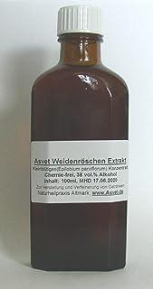Asvet 100ml Weidenröschen Tropfen, Kleinblütiges Weidenröschen Tinktur, Extrakt, Konzentrat, ohne Chemie !