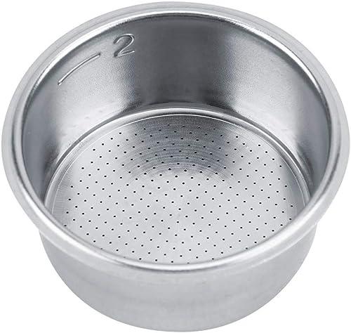 El filtro de café del acero inoxidable reutilizable vierte sobre el colador no presurizado de la cesta del filtro del...