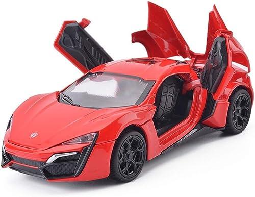 Gjrff Auto Modellauto 1 32 Dodge Lycan Simulation Legierung Druckguss Spielzeug Ornamente Sportwagen Sammlung Schmuck 15,2x6,6x4 CM modell (Farbe   rot)