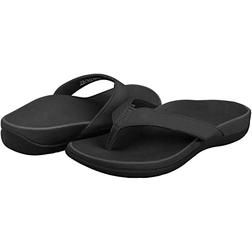 e5cbafc03b2 Sessom Co Orthotic Flip Flops with Comfy Arch Support Women Sandals for  Plantar Fasciitis   Flat Feet