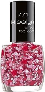 Misslyn Effect Top Coat No. 771 Primavera (Red & Pink)