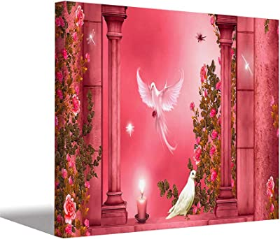 Aart Store Digital HD Printed Stylish Bird Modern Art Framed Canvas Painting for Wall (16x24 inch)