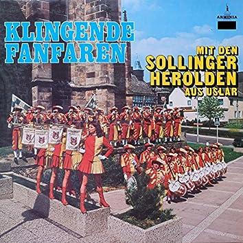 Klingende Fanfaren mit den Sollinger Herolden aus Uslar