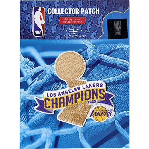 Emblem Source 2020 NBA Finals Champions Trophy Patch Jersey Los Angeles Lakers