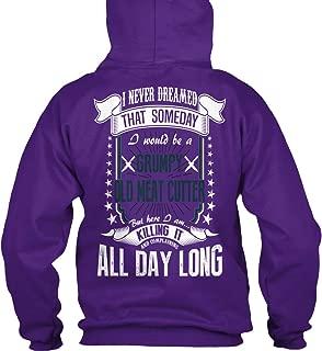 teespring Men's I Never Dreamed. - Sweatshirt - Gildan 8Oz Heavy Blend Hoodie
