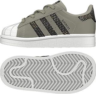 3e5497f9d3 Adidas Superstar I, Zapatillas de Deporte Unisex niño, Verde (Sésamo Negbás  000)