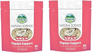 Oxbow 2 Pack Animal Health Natural Science Papaya Support