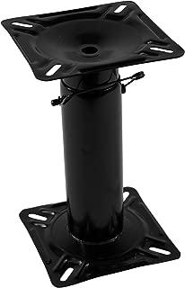 Wise Adjustable Boat Seat Pedestal,  Black