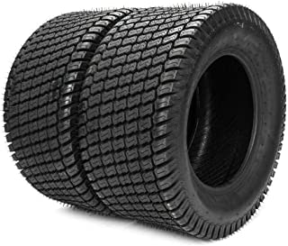 MILLION PARTS 20X10-8 ATV UTV Tires 4PR Tractor Garden Turf Lawn Cart Mower Tire (Pack of 2)