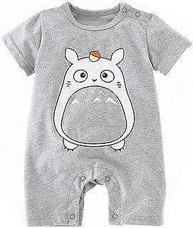 Bebe Monos Recién Nacido Bebé Niño Niña Historieta Mameluco Lindo Peleles Escalada Totoro Ropa Pikachu Verano