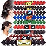 Correa de Máscara de Ajustable, 10 PCS Gancho de máscara Facial Protector de Oreja Hebilla de Extensor de Correa de Oreja para Aliviar la Presión y Ganchos de Máscara de Dolor