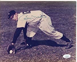 billy martin autographed photo
