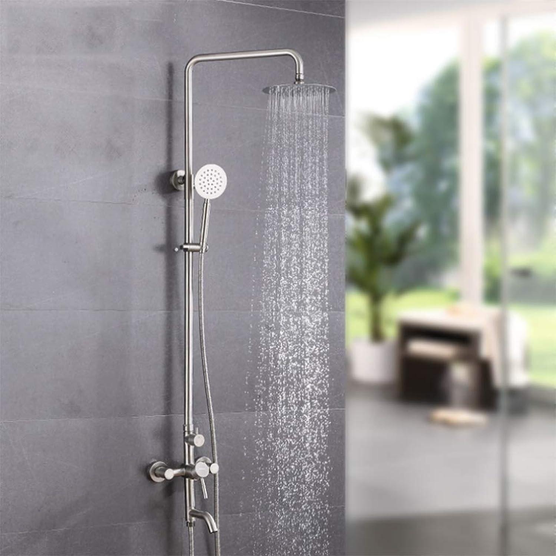 LHW Shower Set chset, Edelstahl, Brauseset, Handbrause, Dusche, Wanddusche, Brauseset