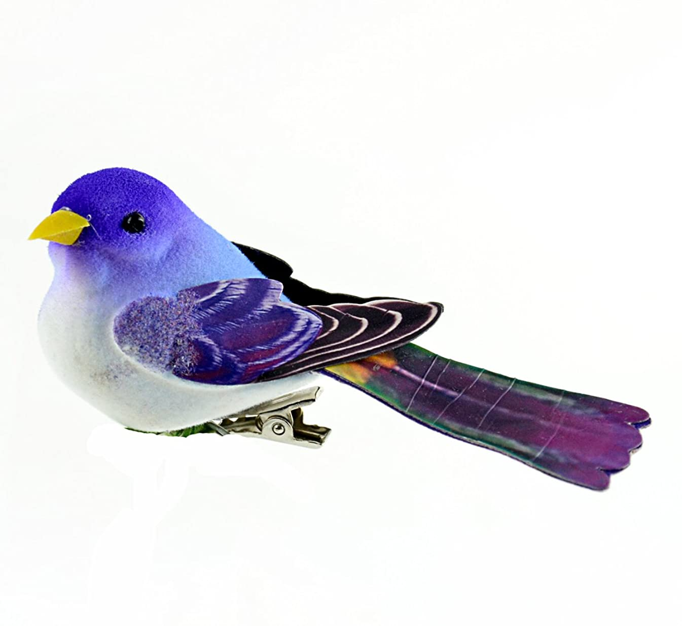 Touch of Nature Purple & Blue Paper-Winged Bird 3.5inch