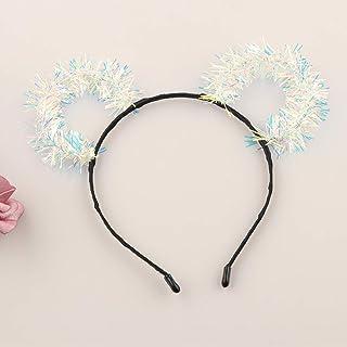 1pc Floral Bow Hair Hoop Fashion Wave Point Rabbit Ear Hair Hoop Girls Rabbit Ears Head Hoop Hair Accessories Children Headdress Discounts Sale Apparel Accessories