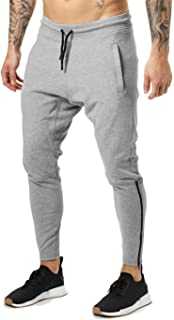 FLYFIREFLY Men's Gym Fashion Haren Sport Pants Workout Running Jogger Fit Sweatpants