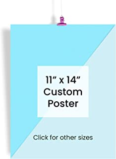 EzPosterPrints - Custom Poster Prints - Personalized Photo Image to Poster, Upload Your Image/Photo for Wall Art Printing - 11 X 14 inches