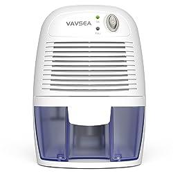 VAVSEA Small Electric Dehumidifier, 1200 Cubic Feet