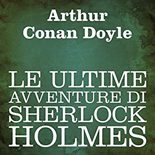 Le ultime avventure di Sherlock Holmes copertina