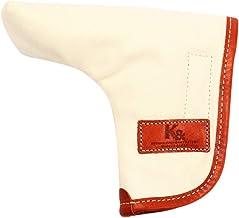 K& PC-BETA ピンタイプ パターカバー バケッタレザー(fieno色)×帆布(生成り色)
