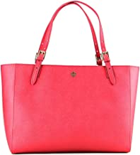 Tory Burch York Buckle Tote in Kir Royale