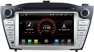 Autosion Android 10 Car DVD Player GPS Stereo Head Unit Navi Radio Multimedia WiFi for Hyundai Tucson ix35 2009 2010 2011 2012 2013 2014 2015 Support Steering Wheel Control