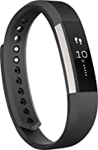 Fitbit Alta Wireless Activity and Fitness Tracker Wristband, Black, Large (6.7-8.1 in) (Non-Retail Packaging)