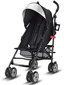 BABY JOY Lightweight Stroller, Aluminum Baby Umbrella Convenience Stroller, Travel Foldable Design with Oxford Canopy...